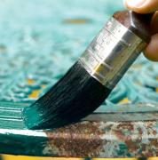 Paint the metal to prevent corrosion